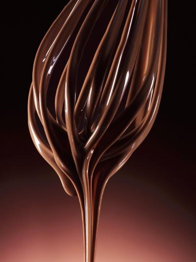 Melted Chocolate Running from a Whisk-Armin Zogbaum-Photographic Print