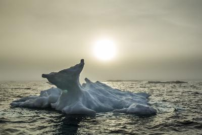 Melting Iceberg, Hudson Bay, Nunavut, Canada-Paul Souders-Photographic Print