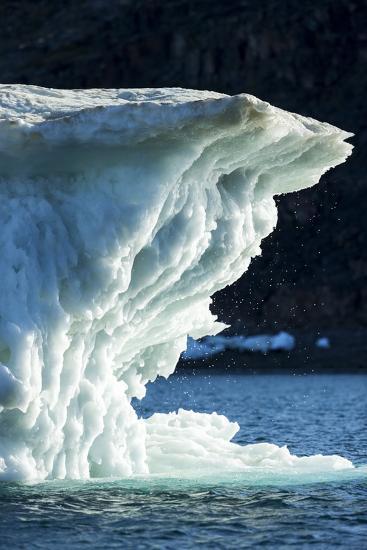 Melting Iceberg, Repulse Bay, Nunavut Territory, Canada-Paul Souders-Photographic Print