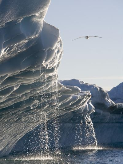 Melting Icebergs in Disko Bay, Greenland-Paul Souders-Photographic Print