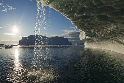 Melting Icebergs in Disko Bay--Photographic Print