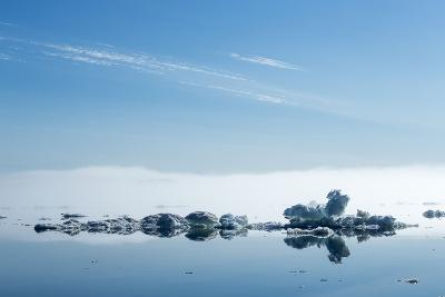 Melting Sea Ice, Hudson Bay, Nunavut Territory, Canada-Paul Souders-Photographic Print