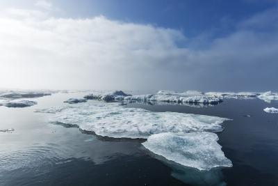 Melting Sea Ice, Repulse Bay, Nunavut Territory, Canada-Paul Souders-Photographic Print