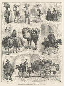 Sketches in Santiago, the Capital of Chile by Melton Prior