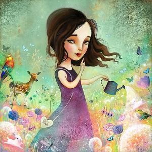 Her Secret Garden Grows by Meluseena