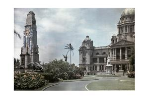 A View of Durban's Civic and Patriotic Center by Melville Chater