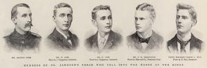 Members of Dr Jameson's Force Who Fell into the Hands of the Bores