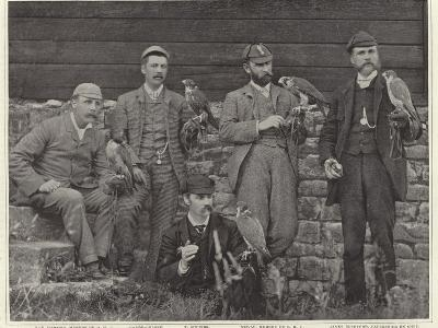 Members of the Old Hawking Club--Photographic Print