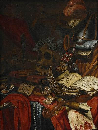 Memento Mori-Vincent Laurensz van der Vinne-Giclee Print