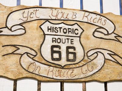 Memorabilia, Route 66 Motel, Barstow, California, United States of America, North America-Richard Cummins-Photographic Print