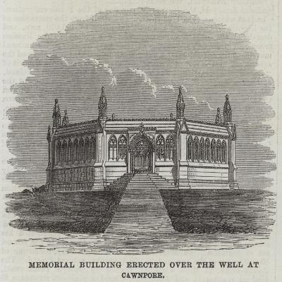 Memorial Building Erected over the Well at Cawnpore--Giclee Print