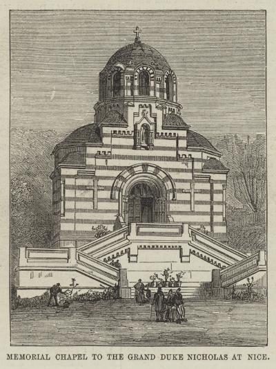 Memorial Chapel to the Grand Duke Nicholas at Nice--Giclee Print