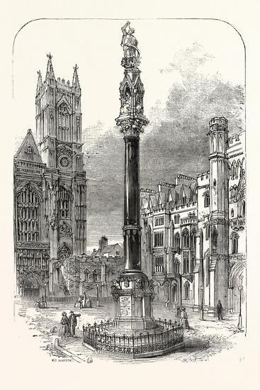 Memorial Column to Lord Raglan--Giclee Print