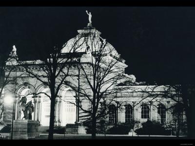 Memorial Hall Philadelphia at Night--Photo