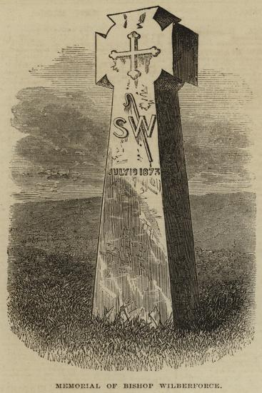Memorial of Bishop Wilberforce--Giclee Print