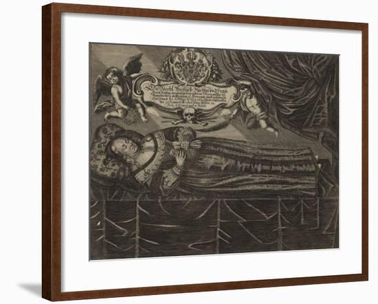 Memorial of Sophie, Daughter of Sophie of Solms-Laubach--Framed Giclee Print