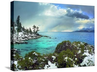 Memorial Point, Lake Tahoe, Nevada-Tim Fitzharris-Stretched Canvas Print
