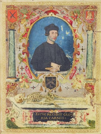 Memorial Portrait of John Colet (1467 – 1519)--Giclee Print