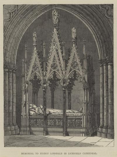 Memorial to Bishop Lonsdale in Lichfield Cathedral--Giclee Print