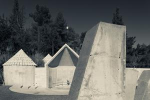 Memorial to Ethiopian Jews who perished on their way to Israel in 1984, Mount Herzl, Jerusalem,...
