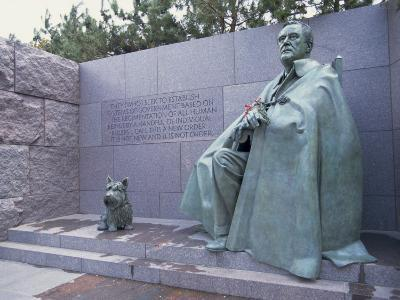 Memorial to Fdr, in Washington Dc, United States of America, North America-Alison Wright-Photographic Print