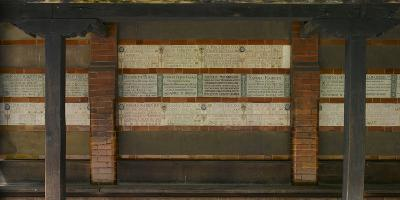 Memorial to Heroic Self Sacrifice Commemorating Ordinary People Who Died Saving the Lives of Others-Richard Bryant-Photographic Print