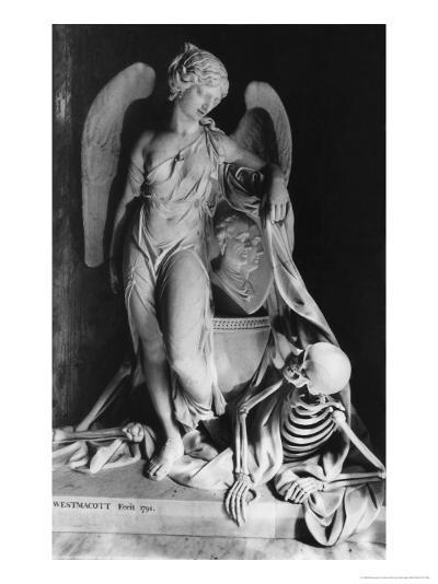 Memorial to James Lennox Dutton, St Mary Magdalene Church, Sherborne, Gloucestershire, England-Simon Marsden-Giclee Print