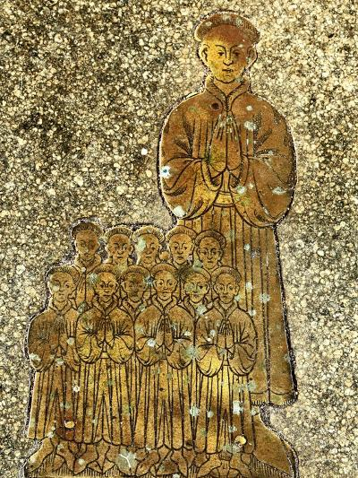 Memorial to Roger and Cecilia Felthorpe and Family, 1454--Giclee Print
