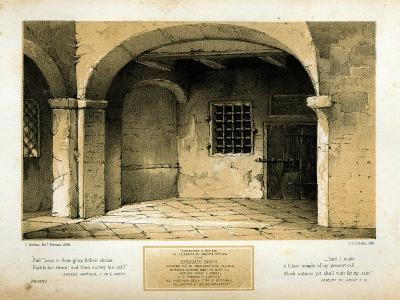 Memorial to Torquato Tasso, engraved by T.C. Dibdin after a 1846 painting-Carlo Grubacs-Giclee Print