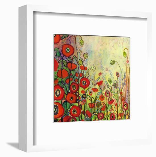 Memories of Grandmother's Garden-Jennifer Lommers-Framed Art Print