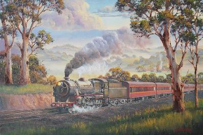 Memories of the Past-John Bradley-Giclee Print