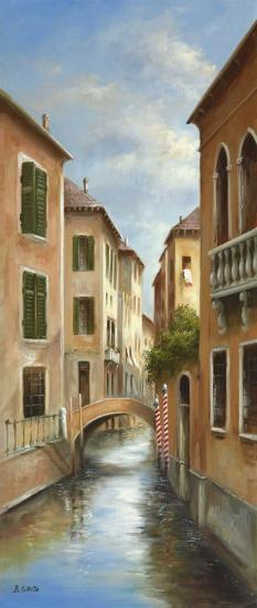 Memories Of Venice II-B^ Smith-Art Print