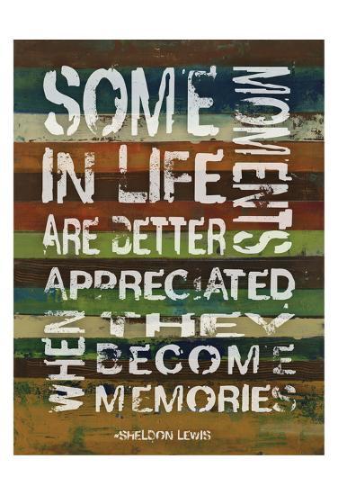 Memories-Smith Haynes-Art Print