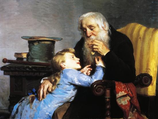 Memory of Grandfather-Giovanni Pezzotta-Giclee Print