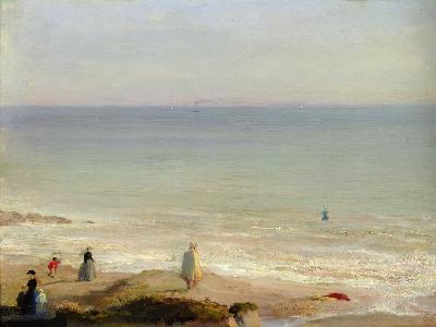 Memory of Langrune, 1865-Leon Cogniet-Giclee Print