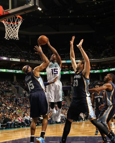 Memphis Grizzlies v Charlotte Hornets-Kent Smith-Photo