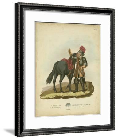 Men in Armour VI-Samuel Rush Meyrick-Framed Giclee Print