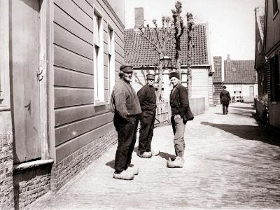 Men in Traditional Costume, Broek, Netherlands, 1898-James Batkin-Photographic Print