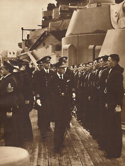 'Men of H.M.S. Royal Oak', 1937-Unknown-Photographic Print