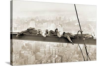 Men on Girder, 1930--Stretched Canvas Print
