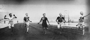 Men's 200m Race at the 1908 Summer Olympics in London