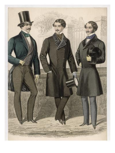 Men's Coats 1853--Giclee Print