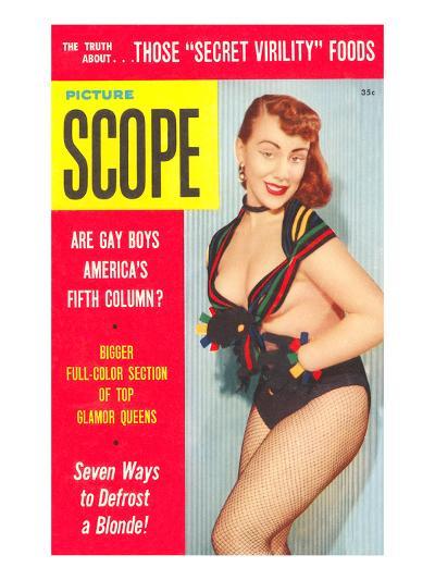 Men's Pulp Magazine Cover--Art Print