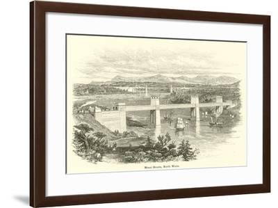 Menai Straits, North Wales--Framed Giclee Print