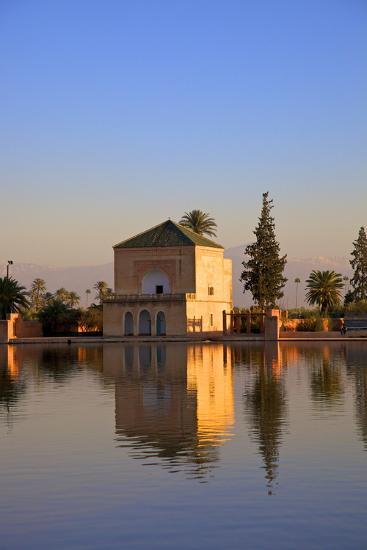 Menara Gardens, Marrakech, Morocco, North Africa, Africa-Neil Farrin-Photographic Print