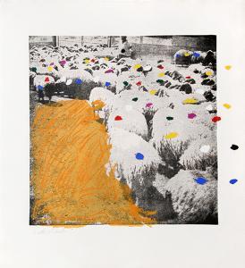 Sheep Portfolio 6 by Menashe Kadishman