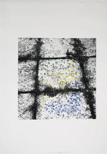 Untitled - Tiles by Menashe Kadishman