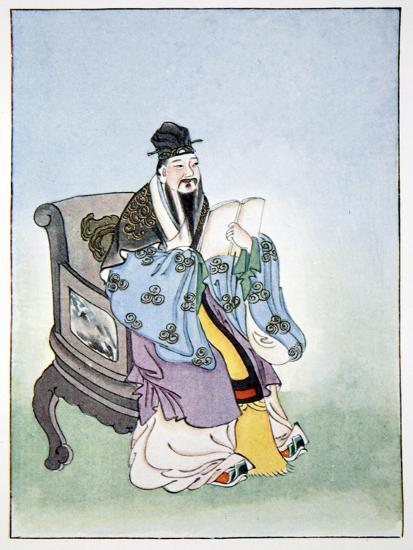 Mencius, ancient Chinese philosopher, 1922-Unknown-Giclee Print