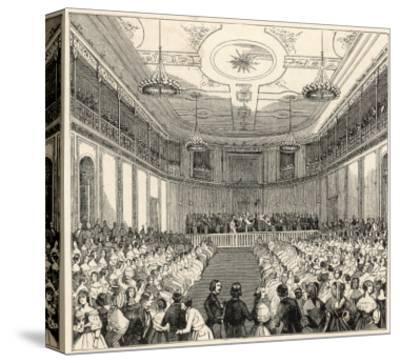 Mendelssohn Conducts His Own Music at the Leipzig Gewandhaus