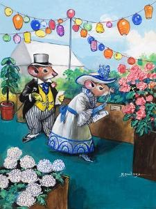 The Town Mouse and the Country Mouse by Mendoza